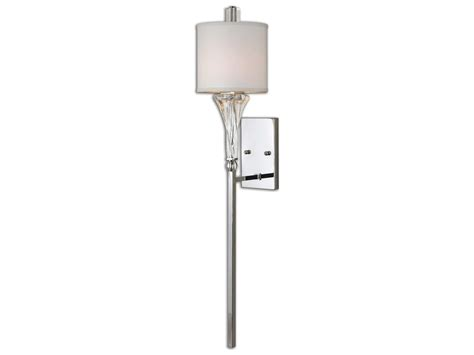 Uttermost Wall Sconces Uttermost Grancona Chrome Wall Sconce Ut22495