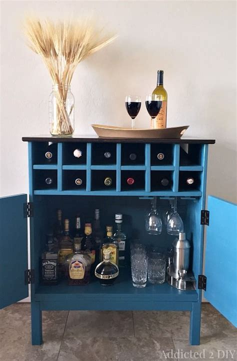 Bar Cabinet Hack by 3 Drawer Chest Bar Cabinets And Hacks On