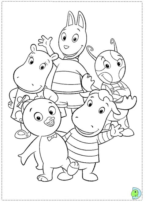 nick jr backyardigans coloring pages the backyardigans coloring pages video search engine at