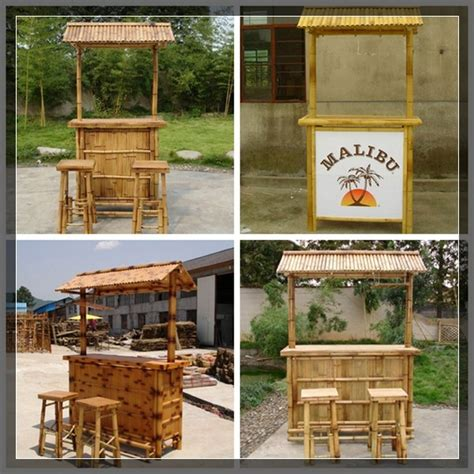 Buy Tiki Bar Custom Color Manufacturer Supply Low Price Outdoor