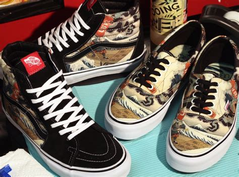 three tides tattoo ubiq x vans vault quot three tides quot sneakernews