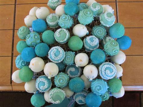 Boy Baby Shower Cake Pops by Baby Boy Shower Cake Pop Basket Cake Pops