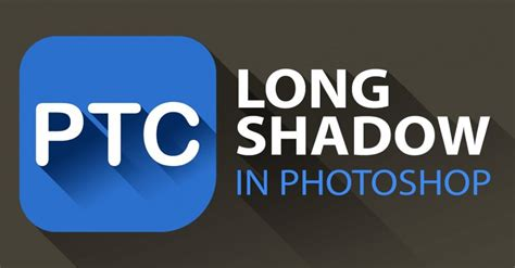 photoshop template long shadow cool photoshop effects video tutorials training