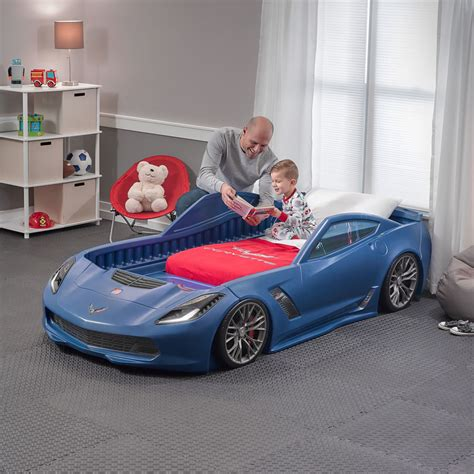 corvette toddler bed set corvette 174 z06 toddler to bed blue retailer