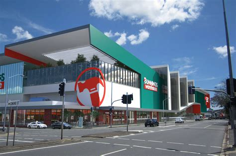 2 Storey Floor Plans by Mixed Retail With Bunnings Proposed For Newstead