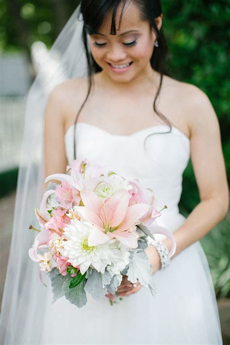 In Law Suites chic pink and blue wedding glamour amp grace