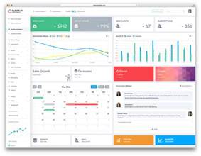 Bootstrap Angular Template by 20 Best Bootstrap Admin Templates For Web Apps 2017 Colorlib