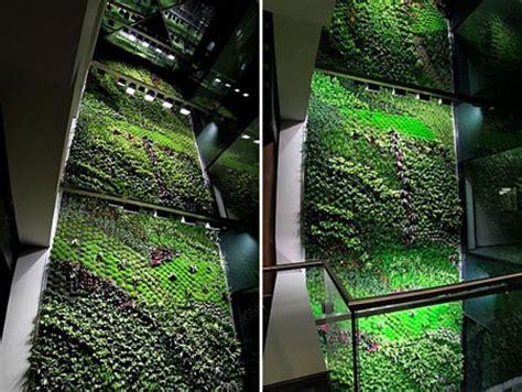 Interior Vertical Garden Indoor Vertical Garden Brings Fresh Air To Buildings