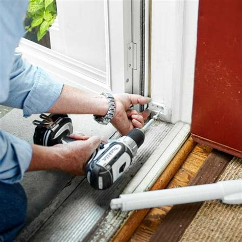 Installing A Exterior Door Attach The Brackets How To Install A Door This House