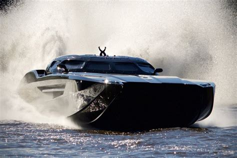 mti boat barrett jackson if batman had a racing boat it would look like the mti