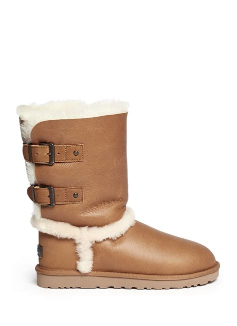 ugg skylah boots in brown lyst