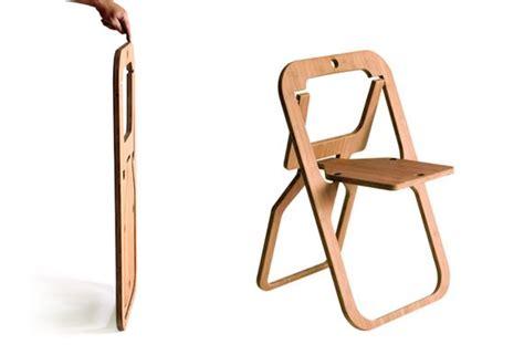 Space Saving Furniture Ikea Desile Folding Chair By Christian Desile