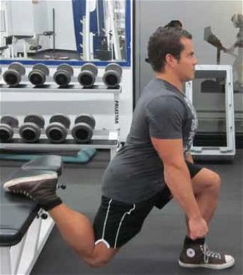 bench lunge stretching routine for bodybuilders lee hayward s total fitness bodybuilding tips