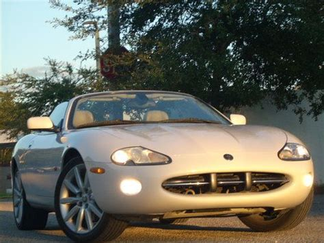2004 jaguar xk xk8 convertible 6 speed automatic transmission photo 49185749 gtcarlot com find used xk8 convertible 4 2l 6 speed 65k mls white cashmere 19 rims just beautiful in