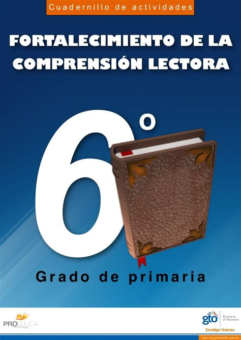 cuadernillo comprension lectora 2 grado de primaria cuadernillo de actividades fortalecimiento de la