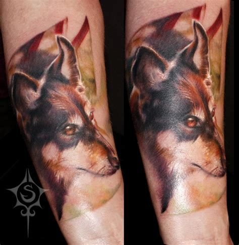 edmonton dog tattoo dog memorial tattoo by illogan on deviantart