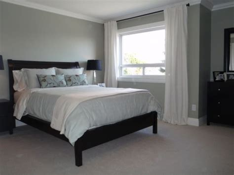 black bedroom furniture what color walls grey walls white curtains dark furniture for the home