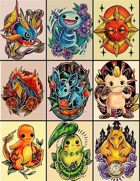 pokemon tattoo designs 357 best images about ideas on back