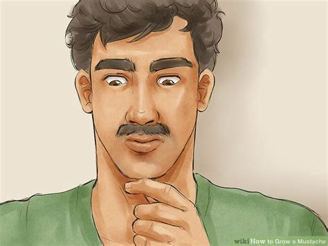 3 ways to grow a thicker beard wikihow how to grow a mustache 11 steps with pictures wikihow
