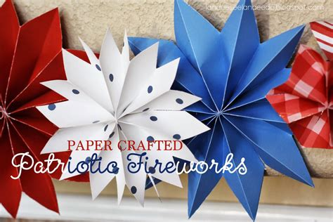 How To Make A Firework Out Of Paper - home things