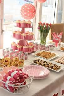 Pink Bistro Table And Chairs Id 233 Es De D 233 Co Pour Une Baby Shower Party Bricobistro