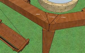 Plans To Build A Octagon Picnic Table by How To Build An Outdoor Pergola Firepit And Swings