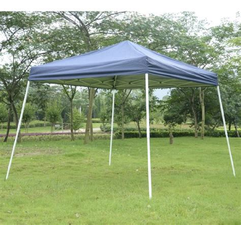Discount Canopy Outsunny Slant Leg Easy Pop Up Canopy Tent 10 X 10