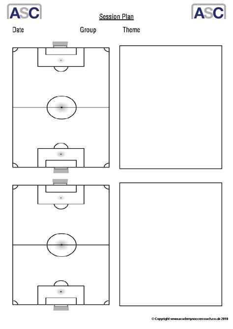 soccer practice plan template free downloads academy soccer coach asc