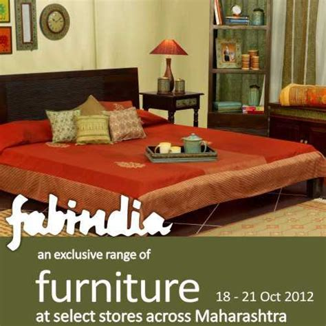 fabindia presents an exclusive range of furniture from 18