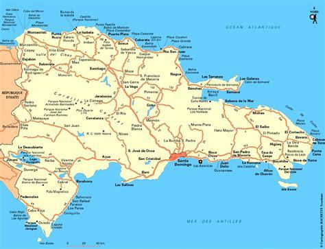 mapa de republica dominicana mapa capital republica dominicana