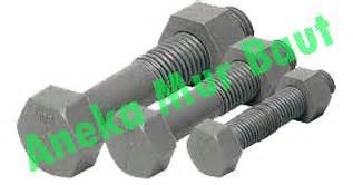 Nut Mur Hitam Kasar 3 8 10pcs unc baut hitam daftar harga aneka mur baut