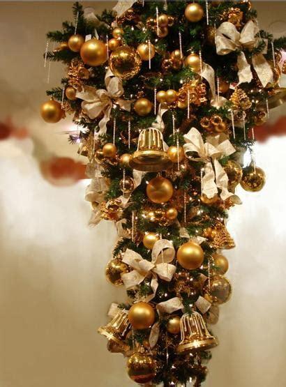 standing upside  alternative christmas trees