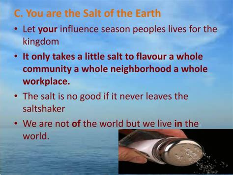 you are the light of the sermon ppt sermon theme salt light matthew 5 13 16