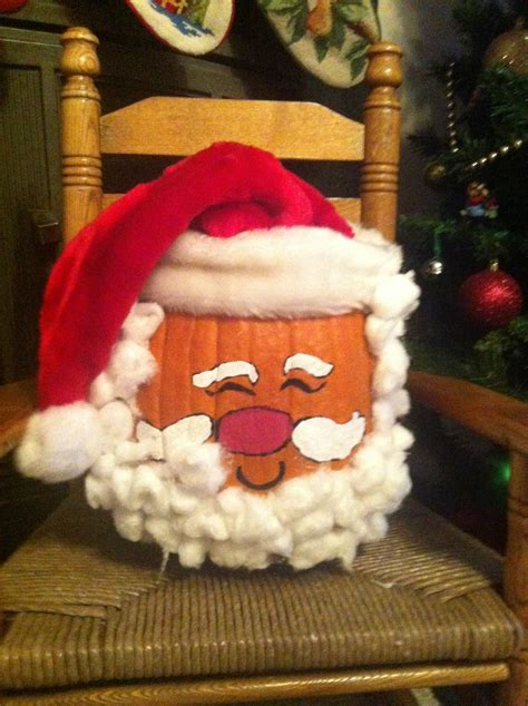 pumpkins decorated for christmas 23 best pumpkin project images on pumpkins decorating ideas and