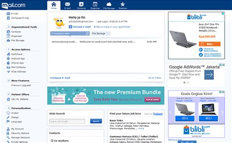 membuat email template cara membuat email gratis di mail com penikmat internet