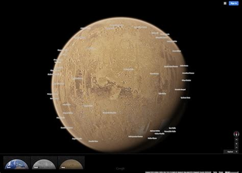 mars map use maps on mars and the moon