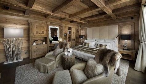 moderne schlafzimmer accessoires 25 cozy and welcoming chalet bedrooms ideas