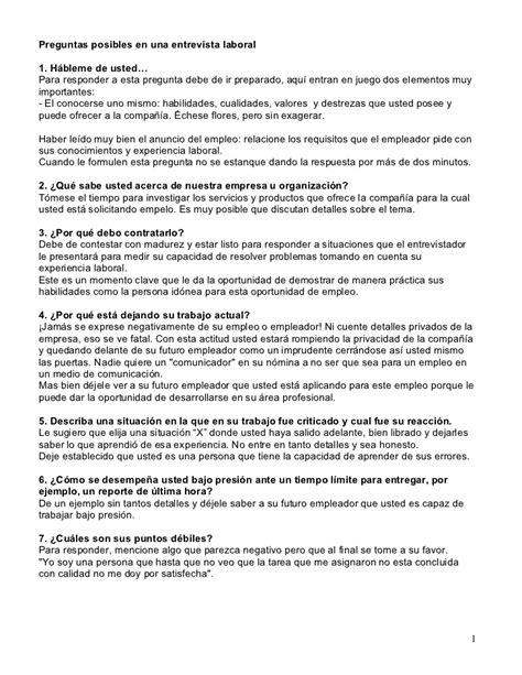 preguntas personales n 400 preguntas en una entrevista laboral
