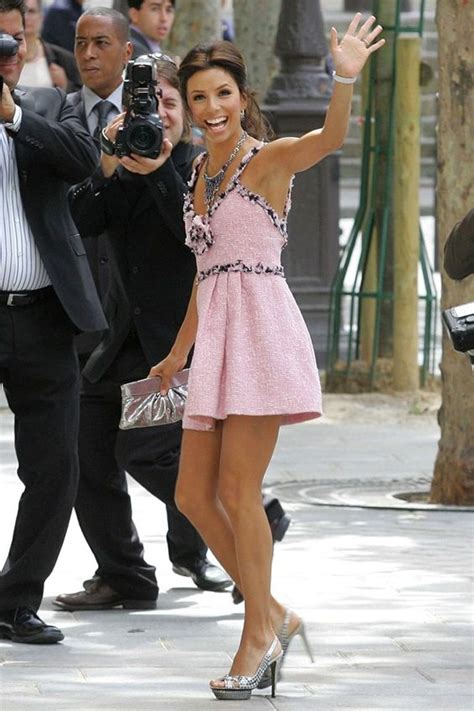 Longoria In Chanel by Here Comes The Pink Dress And