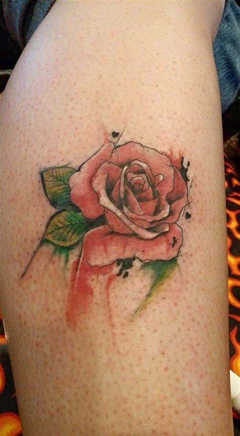 rose bush tattoos pictures watercolor in memory of my grandmother who