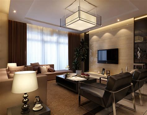 modern livingroom design beautiful modern living room 3d design