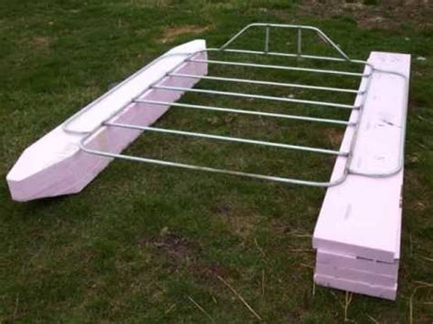 pvc rc boat trailer popular how to build a pontoon boat with pvc pipe go boating