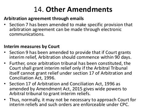 section 9 arbitration act mediation and conciliation and companies acts 2013 nclt