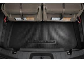 Rear Cargo Mat For 2016 Ford Explorer Cargo Area Protector For 3rd Row Seat The Official