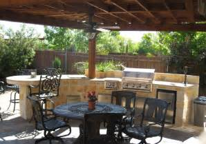 Covered Outdoor Kitchen Designs Outdoor Kitchens By Premier Deck And Patios San Antonio Tx