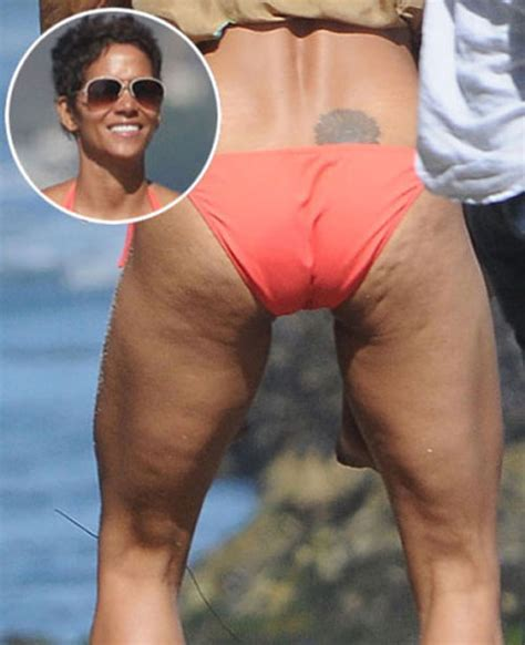 Halle Berry Gets On Knees For A by Getting Rid Of Cellulite From Your Thighs