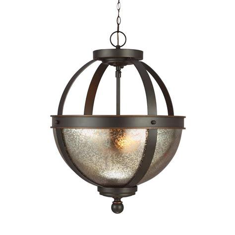 sea gull lighting sfera sea gull lighting sfera 2 light autumn bronze pendant