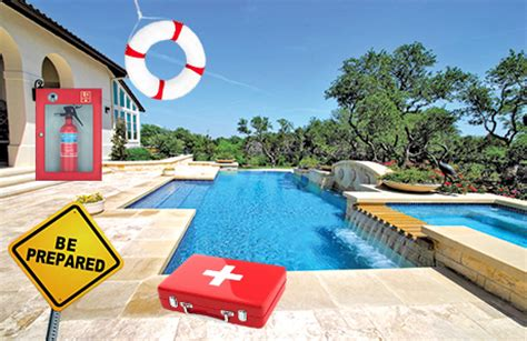 Backyard Rescue Pools Swimming Pool Safety Backyard Aid Kits And Rescue