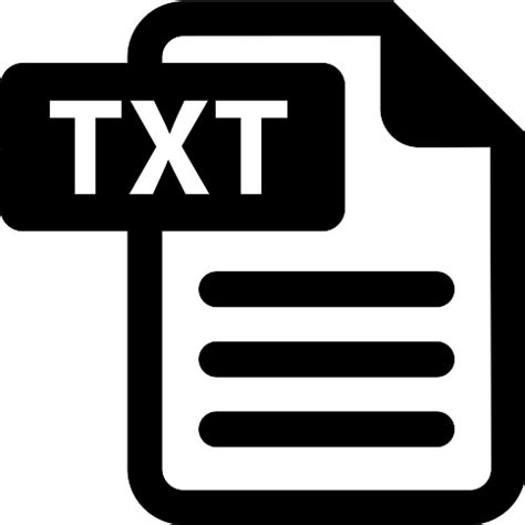 TXT File - Free computer icons .txt