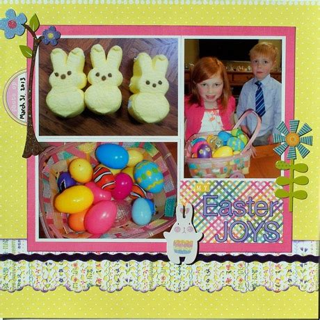 easter rubber sts 17 best images about easter scrapbooking on